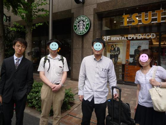 竹内さんと朝カフェ@神谷町