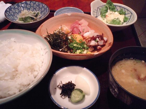 5色納豆定食♪