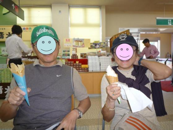 アイスとクレープ☆