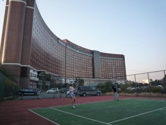 マロウドインターナショナル成田でテニス!