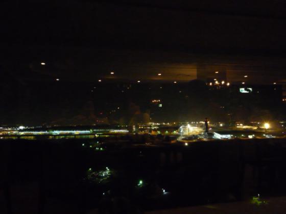 成田空港の夜景が♪