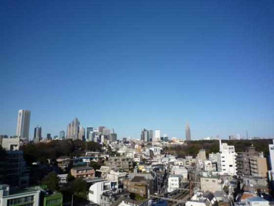 快晴の東京都内♪