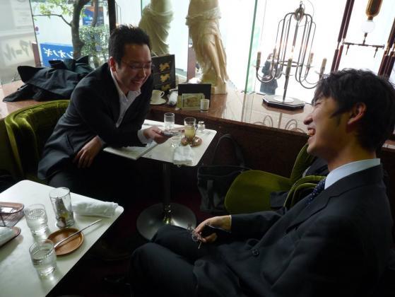 鹿田さんによるポッドキャスト用インタビュー☆