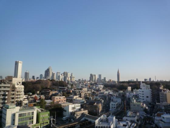 新宿を一望☆