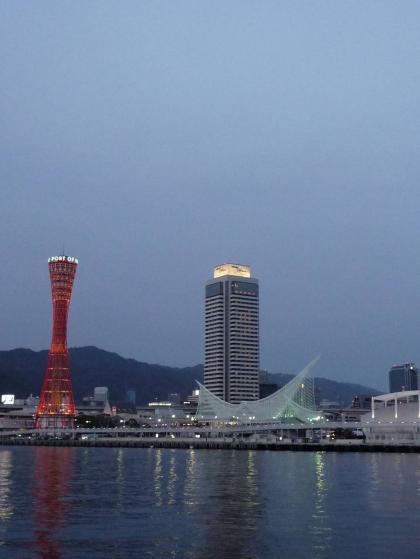 神戸の夜景・・・の一歩手前(苦笑)