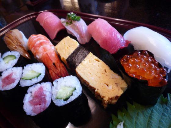 特上のお寿司♪