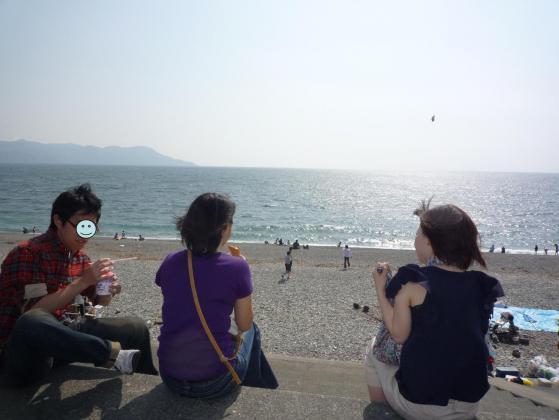 大海原を見渡しながら・・・