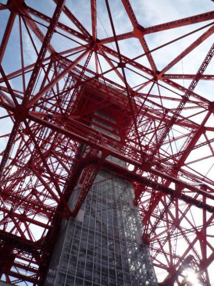 東京タワーを徒歩で!