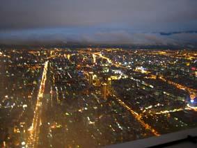 91階からの夜景