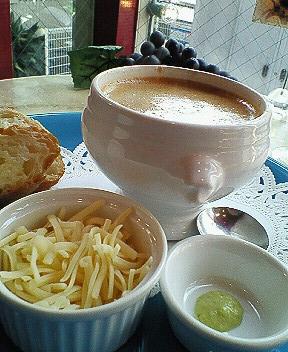 魚介のスープ