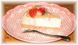 イチゴチーズケーキ2
