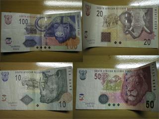 南アフリカ紙幣