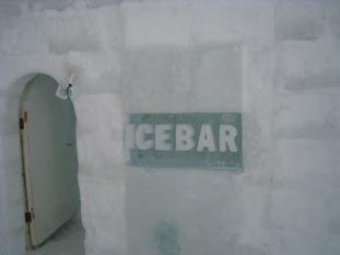 ICE BAR 入り口