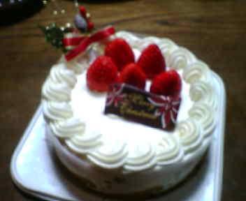 081224 クリスマスケーキ