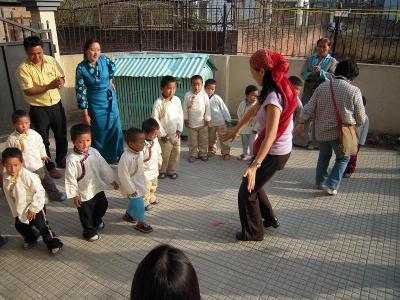 参加者の踊り