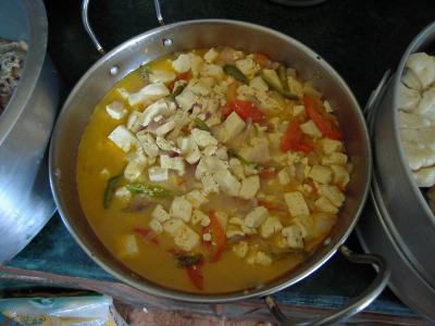 豆腐と野菜煮