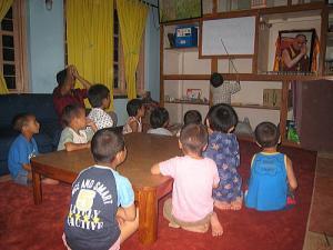 チベット語の授業カンド