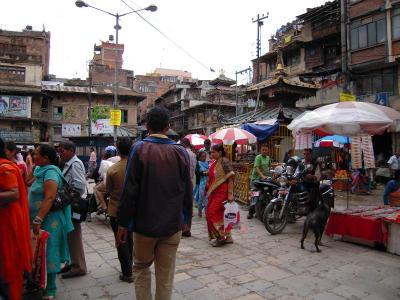 ネパール市内