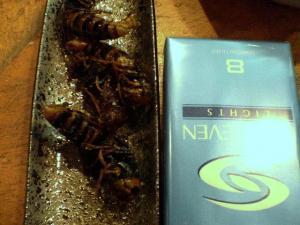 オオスズメバチ。カラッと揚がってます
