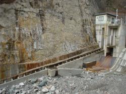 塩川堰堤の魚道