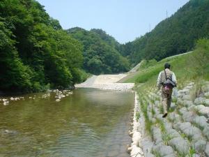あそこを曲がれば松川ダム