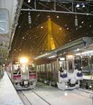 2007年12月31日青森駅にて