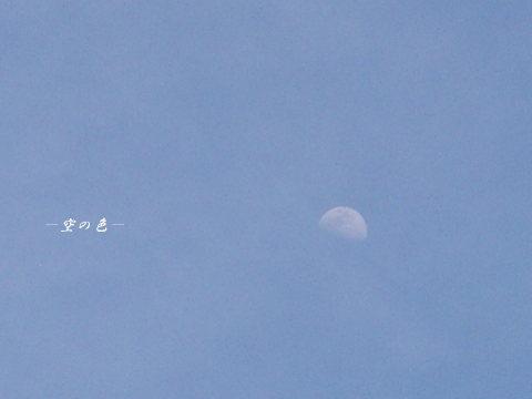 雲に霞むお月様。
