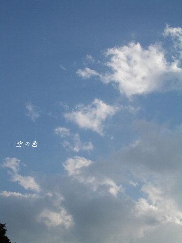 輝く雲と、影になる雲。
