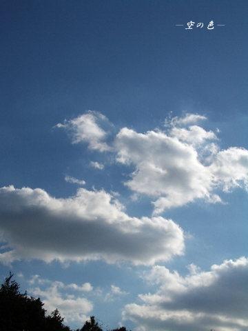 輝いた雲はとても綺麗。