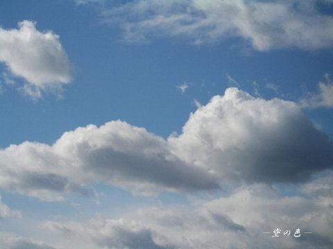あの雲に乗れたら気持ちがよさそう^^