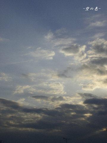 久しぶりに撮れた空。