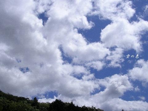 元気ももらって、ウキウキするような空。