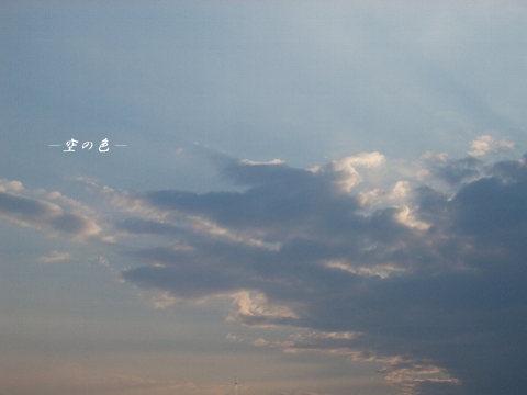 じっと見ないとわからないほどにゆったり動いていた雲。