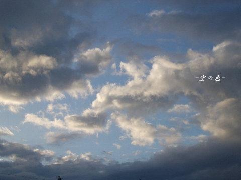 やっぱり朝は、綺麗な空であって欲しい。