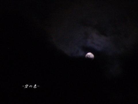 満月なんだけど・・・