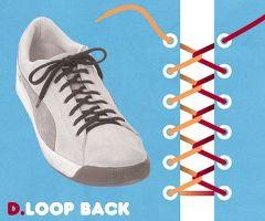 ループバック結び・靴ひも・結び方