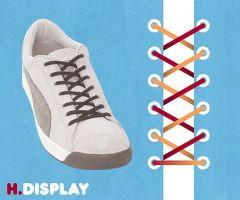 ディスプレイ結び・靴ひも・結び方