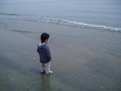 波と遊んだよ♪