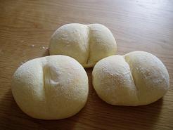 ハイジの白パン♪