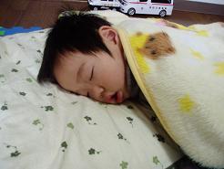 久々お昼寝~。