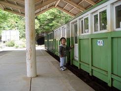 トロッコ電車~♪