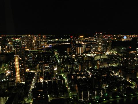 聖路加タワー夜景別アングル