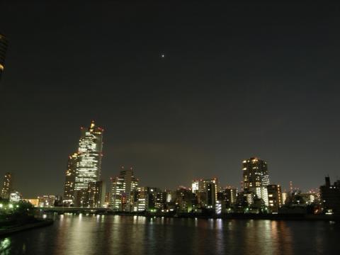 隅田川 夜