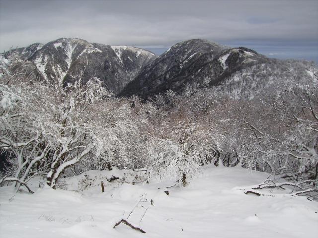 蛭が岳と丹沢山208