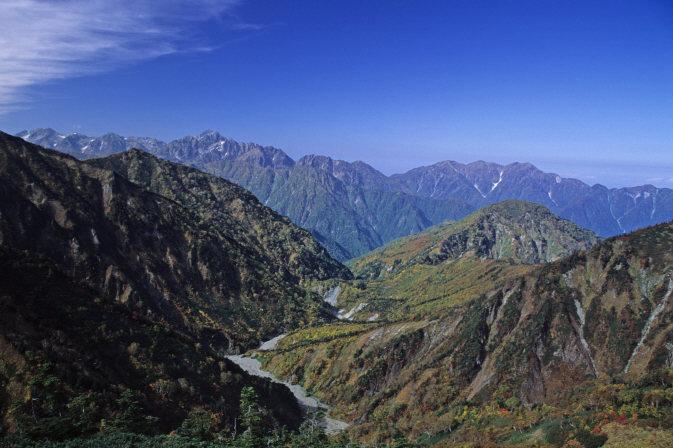 立山、剱岳、毛勝三山1