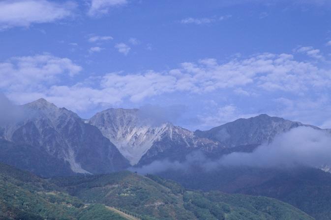 白馬三山1