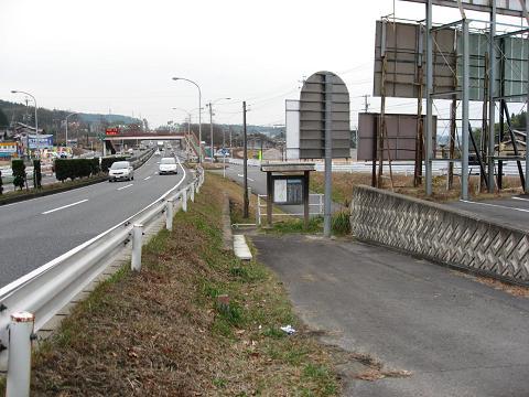 小石塚立場付近の旧中山道