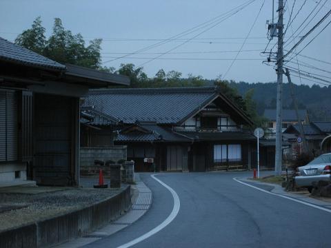 旧中山道・札の辻付近