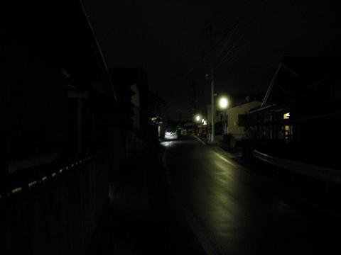 茄子川夜景