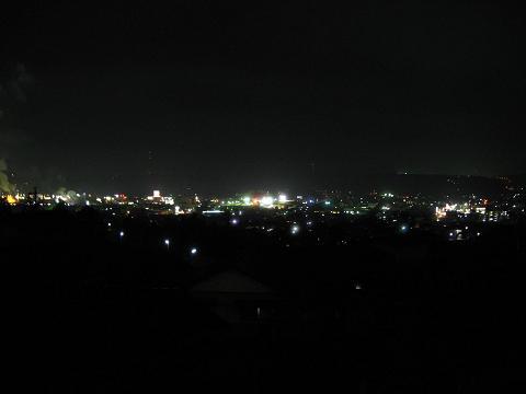 恵那市街夜景